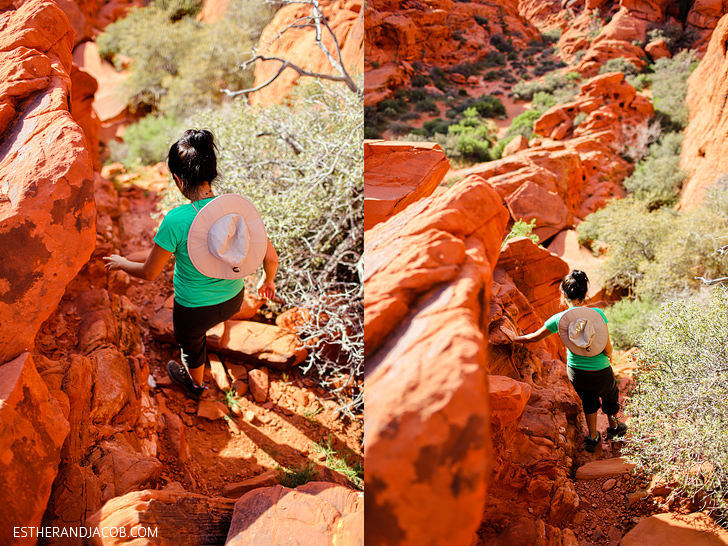 Red Springs Loop or Calico Loop | Red Rock Canyon Hiking.