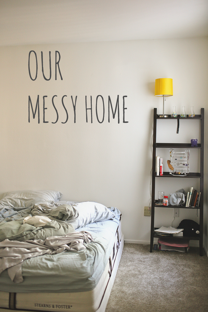 Our Humble and messy Abode. Gratitude practice for week 29.