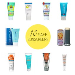 10 Best and Worst Sunscreens (From EWG Sunscreen Guide)