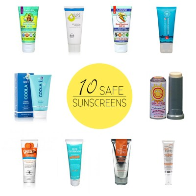 EWG Sunscreen Guide 2014 - 10 Best and 10 Worst Sunscreens.