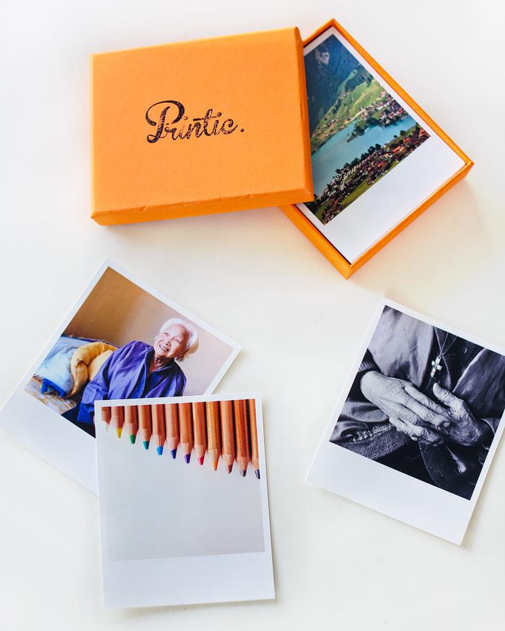july blog giveaway: printic photos and photo box.
