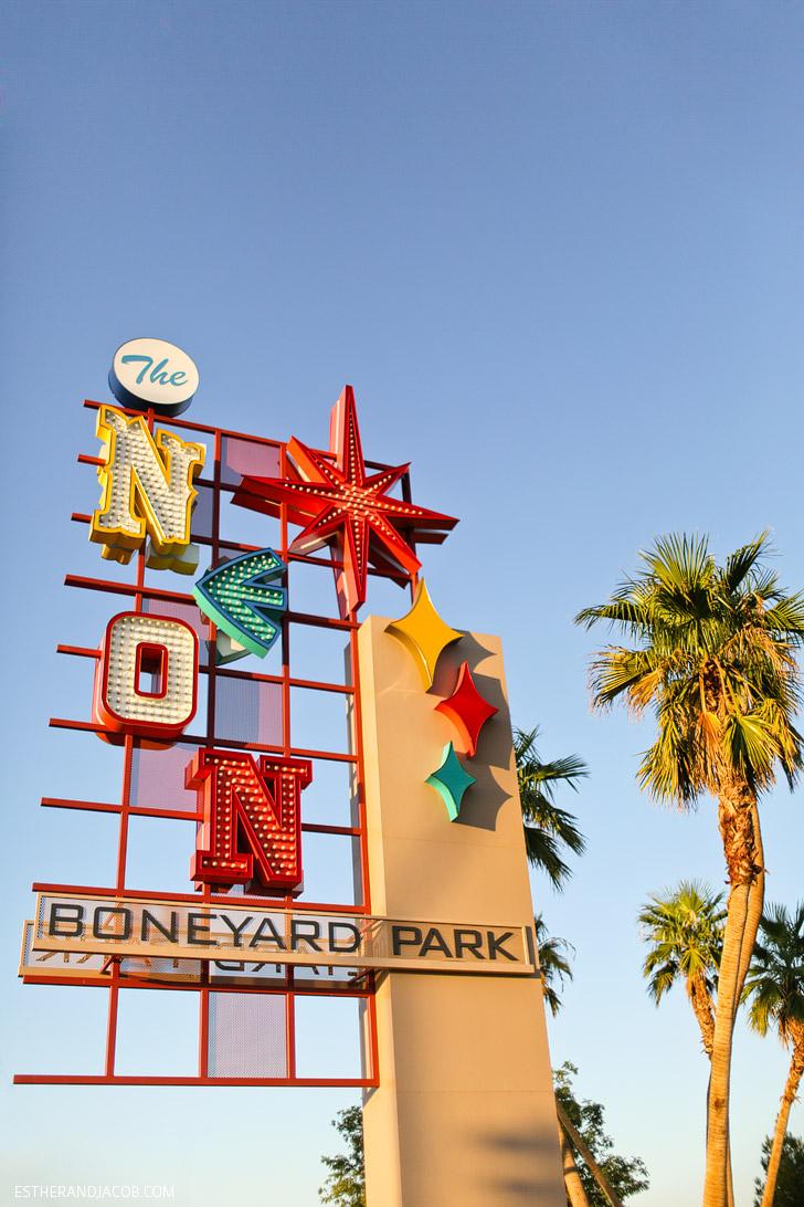 Local Adventures at the Neon Museum Las Vegas.