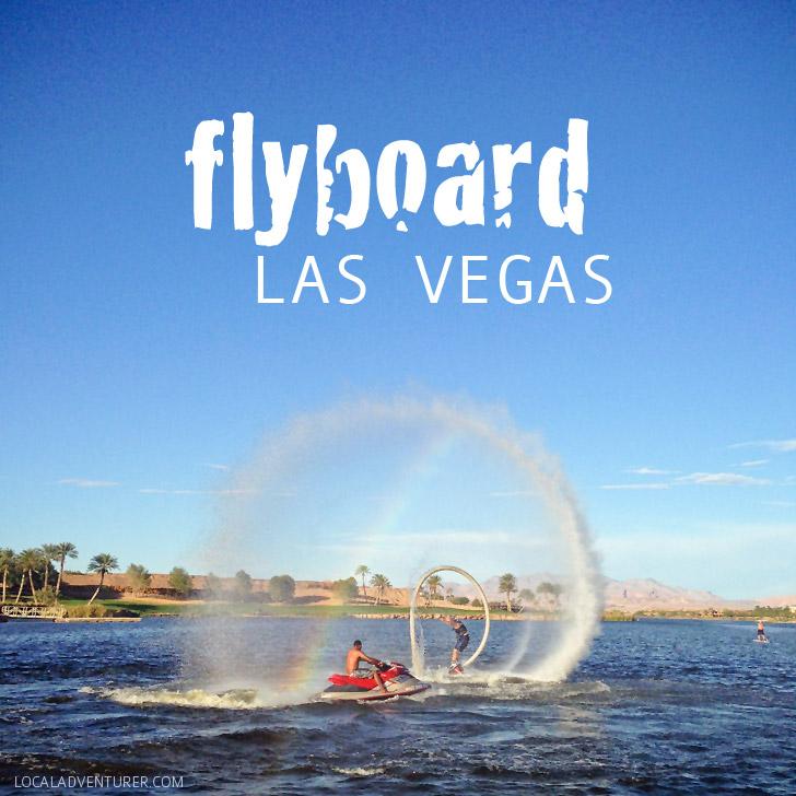 Flyboard Las Vegas To Do List.