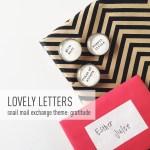 November Lovely Letters Snail Mail Pen Pal + December Card Swap