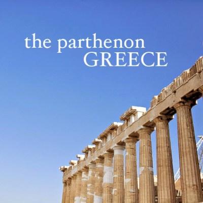 Acropolis - The Parthenon Athens Greece.