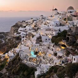 Best Sunset in Oia Santorini Greece (Oia Castle)