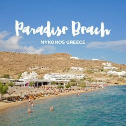 Best Party Beach in Mykonos – Paradise Beach Mykonos Greece