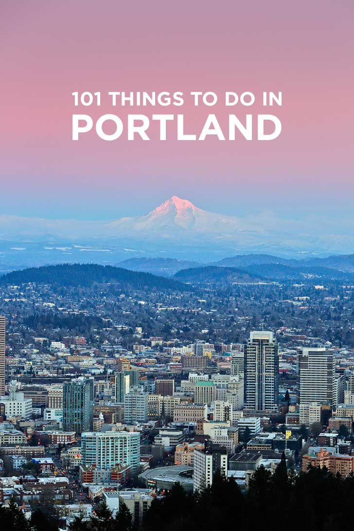 101 Things to Do in Portland Oregon - the Ultimate Portland Bucket List - from the touristy spots everyone has to do at least once to the spots a little more off the beaten path. // localadventurer.com