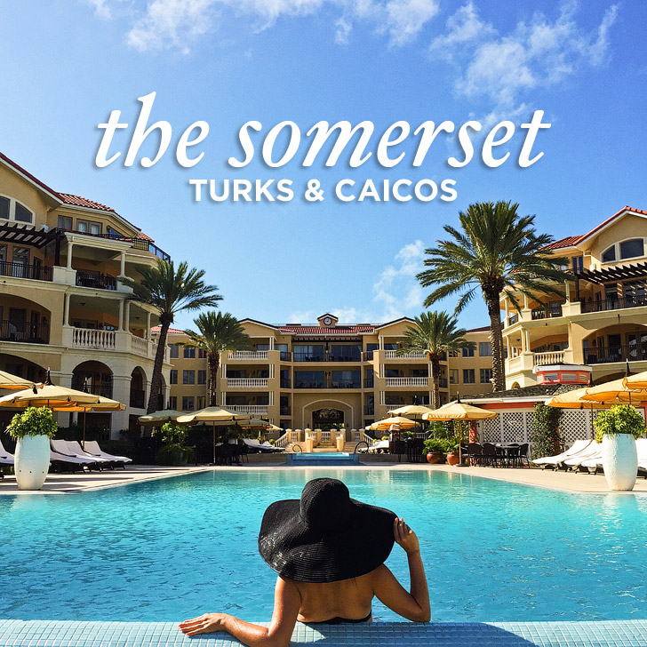 The Somerset on Grace Bay Turks and Caicos.