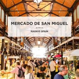 In Foodie Heaven at Mercado de San Miguel Madrid