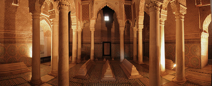 Saadian Tombs (21 Fascinating Things to Do in Marrakech Morocco).