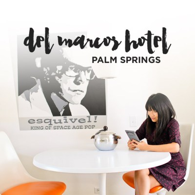 Del Marcos Hotel Palm Springs California.