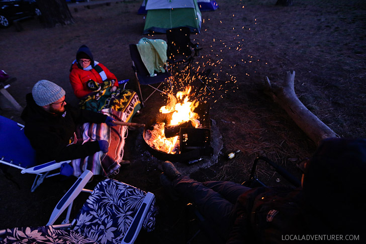 Winter Camping Tips - 5 Lessons We Learned from Being Unprepared for Winter Camping.