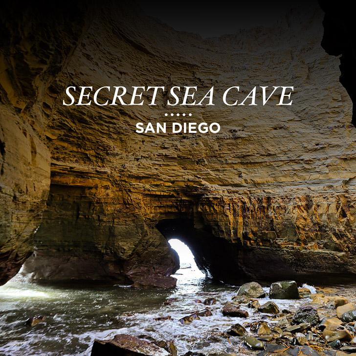 Secret Sea Cave San Diego.