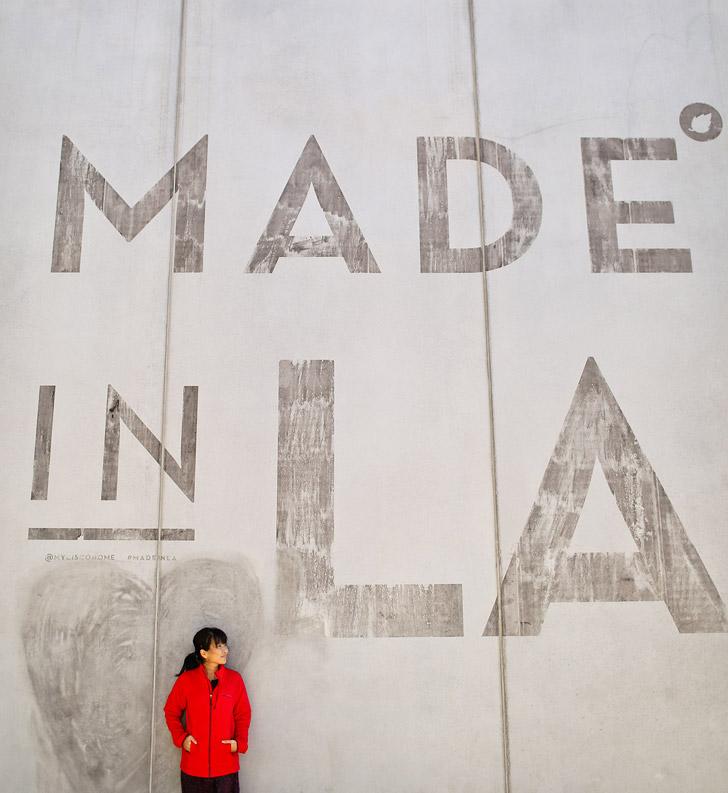 Made in LA Wall (25 Best Instagram Spots in Los Angeles).