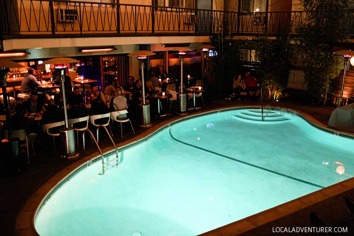 The Pearl San Diego - They have a free weekly dive-in movie experience // localadventurer.com