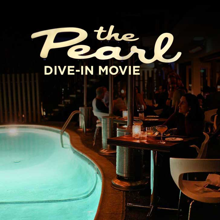 The Pearl Hotel San Diego - They have a free weekly dive-in movie // localadventurer.com