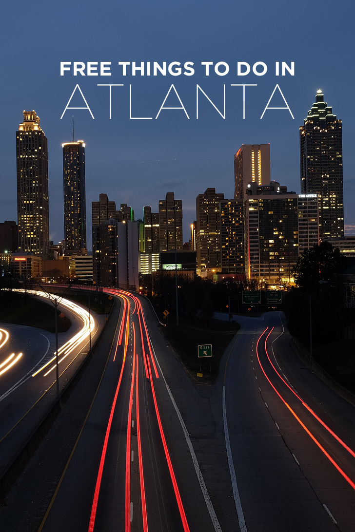 Your Ultimate Guide of Free Things to Do in Atlanta // localadventurer.com