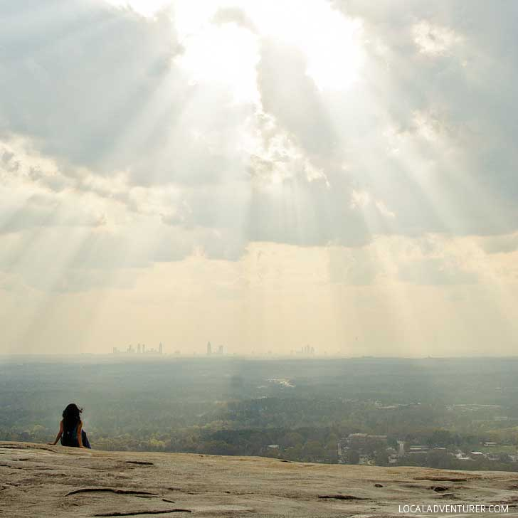 Hiking in Stone Mountain Park (+ More Free Things to Do in Atlanta) // localadventurer.com