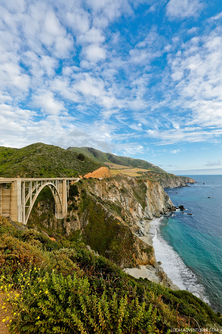 Bixby Bridge Big Sur California - Highway 1 Road Trip // localadventurer.com