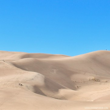 Great Sand Dunes National Park - home of the tallest sand dunes in North America // localadventurer.com