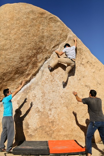 The Chube - Bouldering Joshua Tree National Park // localadventurer.com
