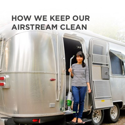 How We Keep Our Airstream Clean // localadventurer.com