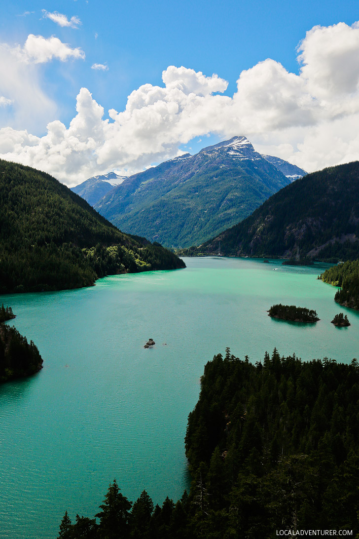 Diablo Lake North Cascades National Park Washington USA // localadventurer.com