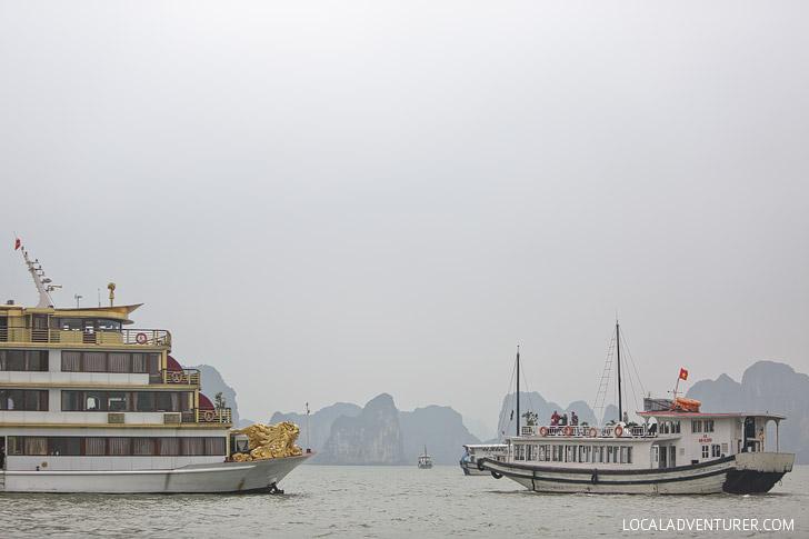 Vietnam Halong Bay Boat Tours // localadventurer.com