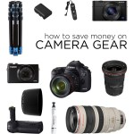 How to Save Money on Camera Gear