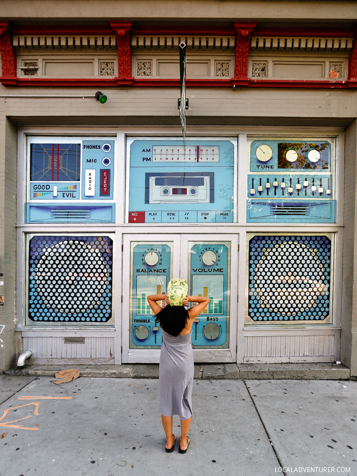 Boombox Doors Music Room Atlanta (+ Most Popular Instagram Spots in Atlanta) // localadventurer.com