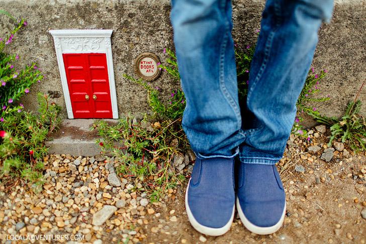 Tiny Doors Atlanta on the Beltline // localadventurer.com