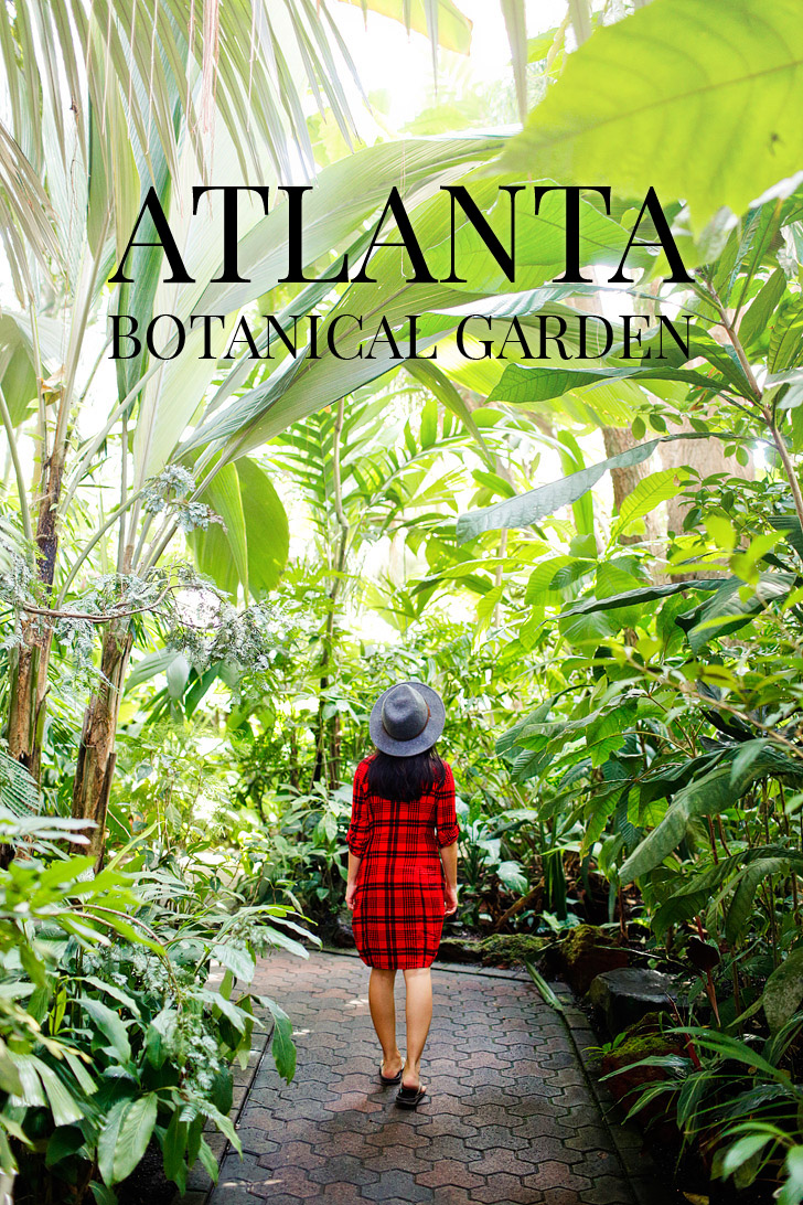 Atlanta Botanical Garden is a 30 acre garden in Midtown Atlanta that host several art exhibits throughout the year // localadventurer.com