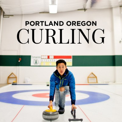 Curling Lessons at the Evergreen Curling Club in Portland Oregon // localadventurer.com