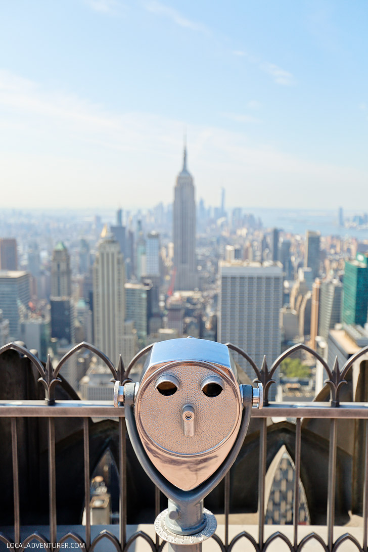 Amazing NYC Views from the Top of the Rock // localadventurer.com