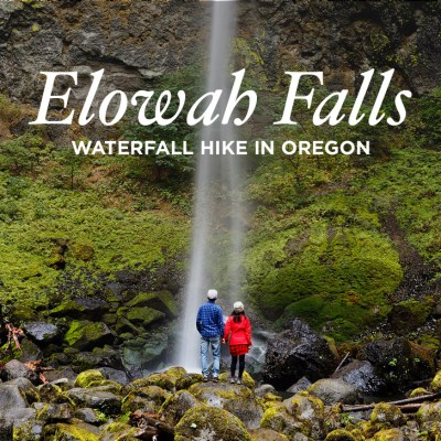 Elowah Falls Hike - Chasing Waterfalls in Oregon // localadventurer.com