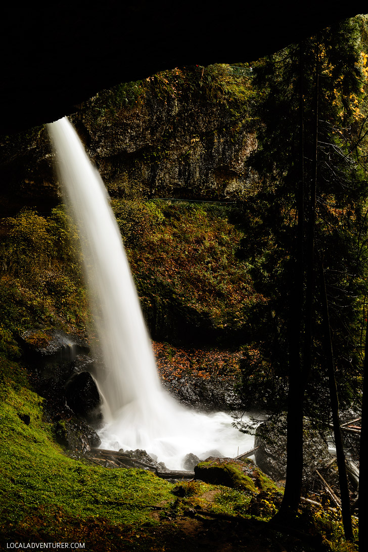 Trail Of Ten Falls Hiking Guide Silver Falls State Park Oregon - Waterfalls in oregon map