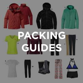 Local Adventurer Packing Guides // localadventurer.com