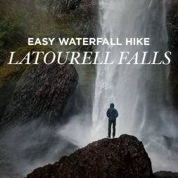 Latourell Falls Hike – Easy Waterfall Hikes Near Portland
