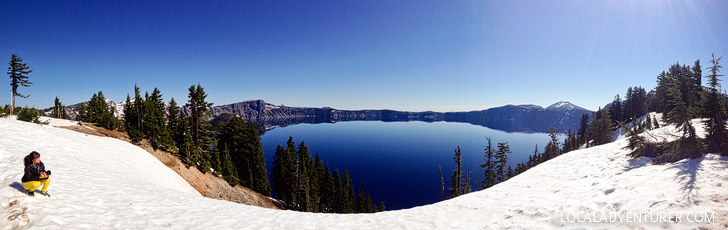 Best Crater Lake Activities in the Summer vs Winter + Ultimate Guide to the Park // localadventurer.com