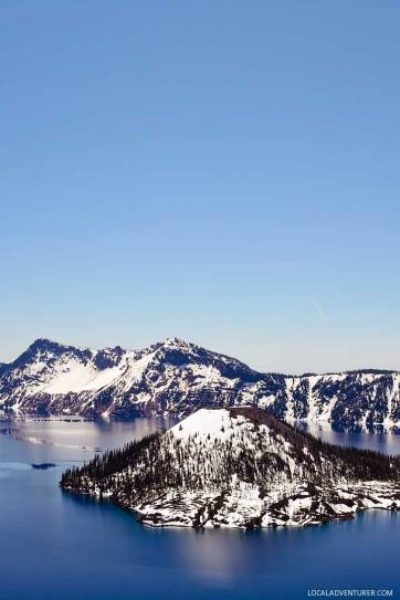 Crater Lake National Park + 15 Popular Weekend Getaways from Portland Oregon // localadventurer.com