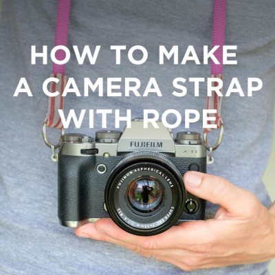 How to Make a Camera Strap with Climbing Rope // localadventurer.comHow to Make a Camera Strap with Climbing Rope // localadventurer.com