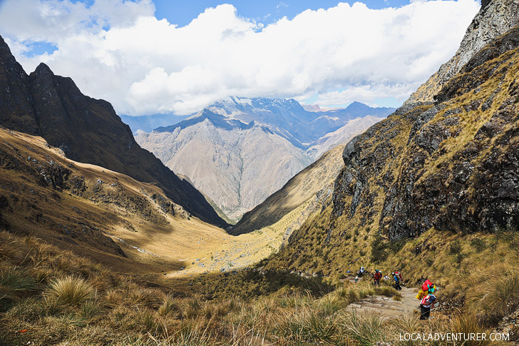 The Dreaded Climb Up to Dead Woman's Pass - Highest Point Inca Trail // localadventurer.com