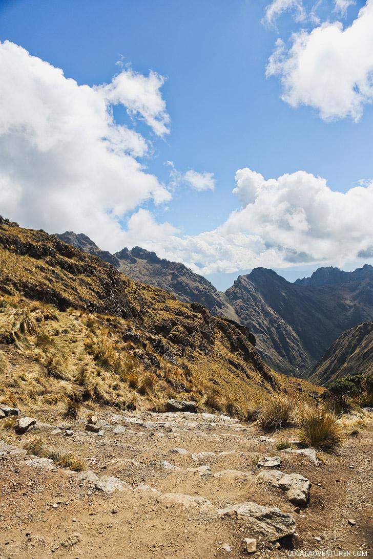 The Brutal Climb Up to Dead Woman's Pass - Inca Trail's Highest Point // localadventurer.com