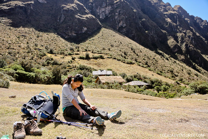Inca Trail Hike Difficulty - I was dying here // localadventurer.com