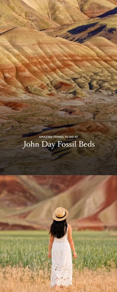 Amazing Things to Do at John Day Fossil Beds National Monument Oregon - The Painted Hills Unit is One of Oregon's 7 Wonders // localadventurer.com