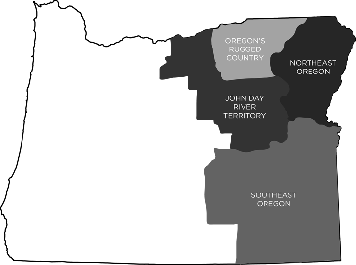 Eastern Oregon Regions // localadventurer.com