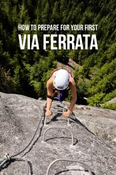 Via Ferrata Tips + a Great Introductory Via Ferrata in Squamish BC // localadventurer.com