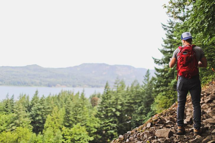 Visual Guide to the Angels Rest Hike Oregon // localadventurer.com