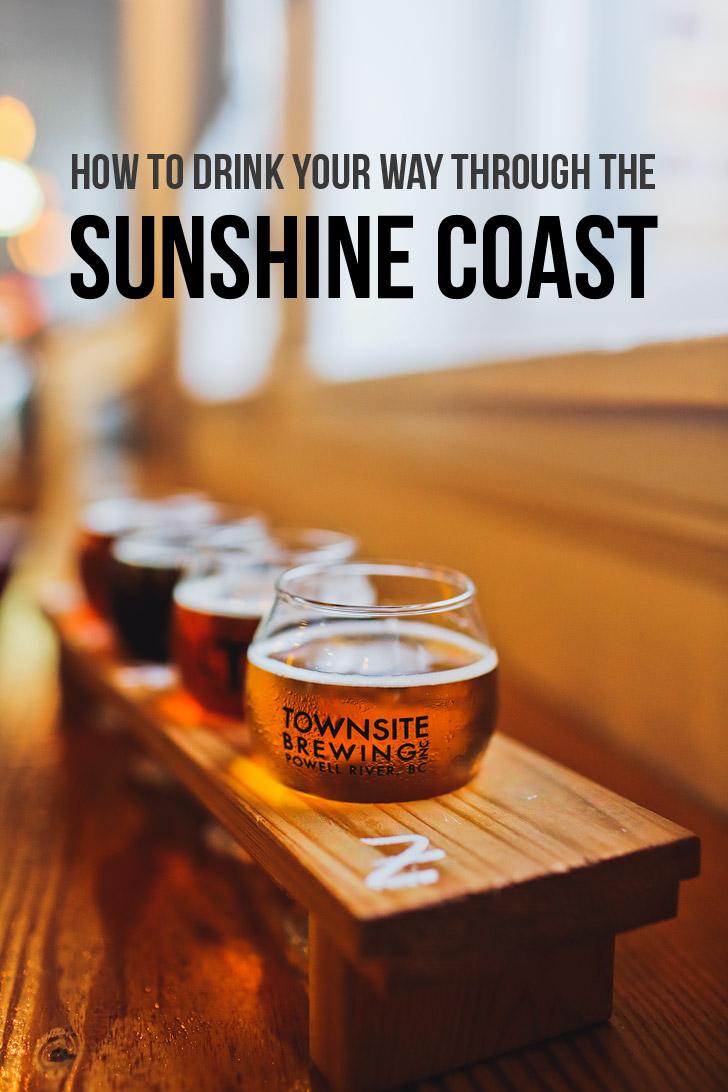 How to Drink Your Way Through the Sunshine Coast BC Ale Trail // localadventurer.com
